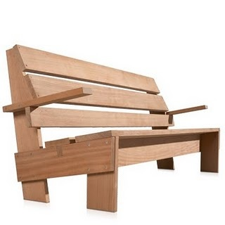 Rietveld garden bench, how to