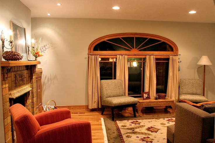 Warm and inviting living room design from 1 of 28 for Warm inviting living room ideas