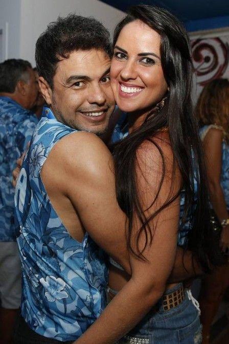 Zezé Di Camargo briga com Graciele Lacerda depois de vetá-la no desfile da Imperatriz Leopoldinense a pedido da família
