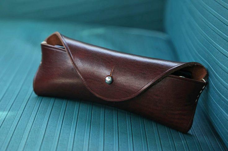 AMORICA leatherworks_ sunglass case #leatherworks #leathercrafts #AMORICA #sunglasscase #eyeglasscase #leather