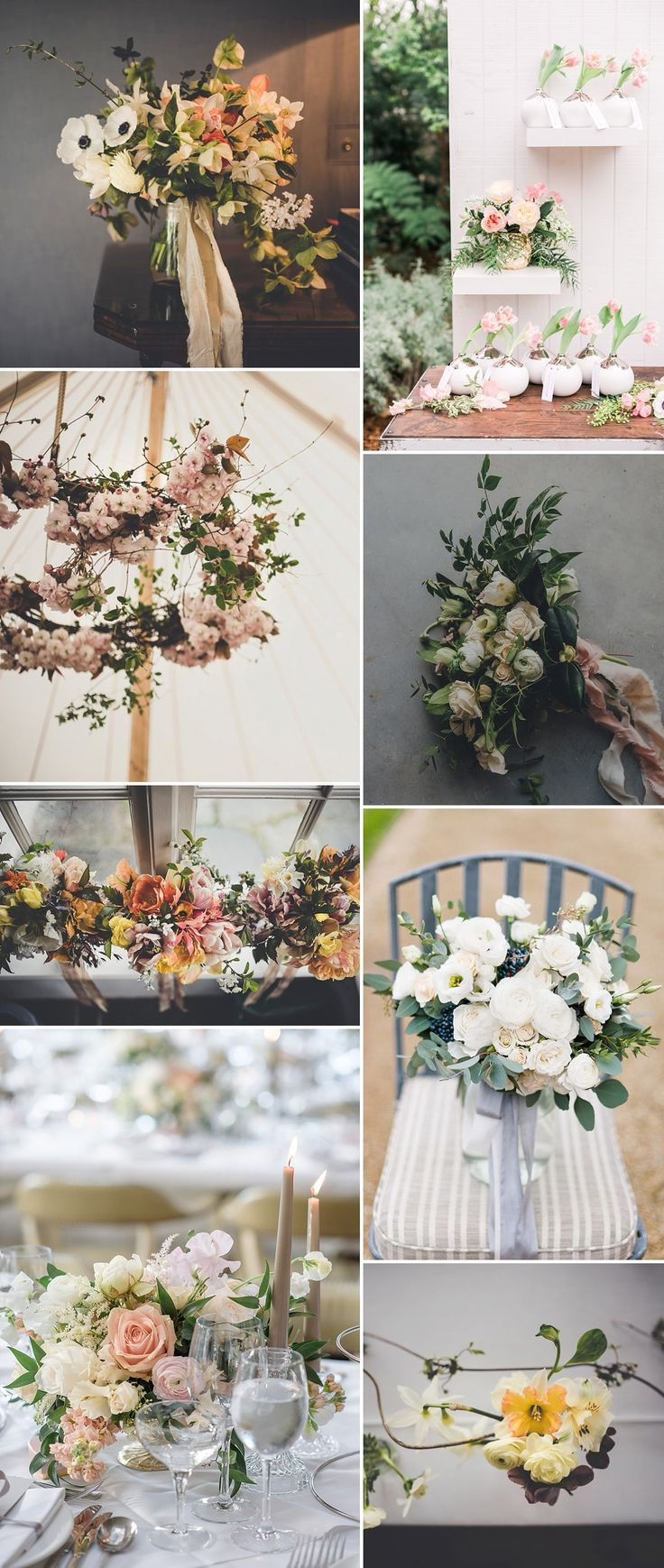 25 swoon worthy spring amp summer wedding bouquets tulle amp chantilly - Spring Flower Wedding Inspiration From The Love Lust List