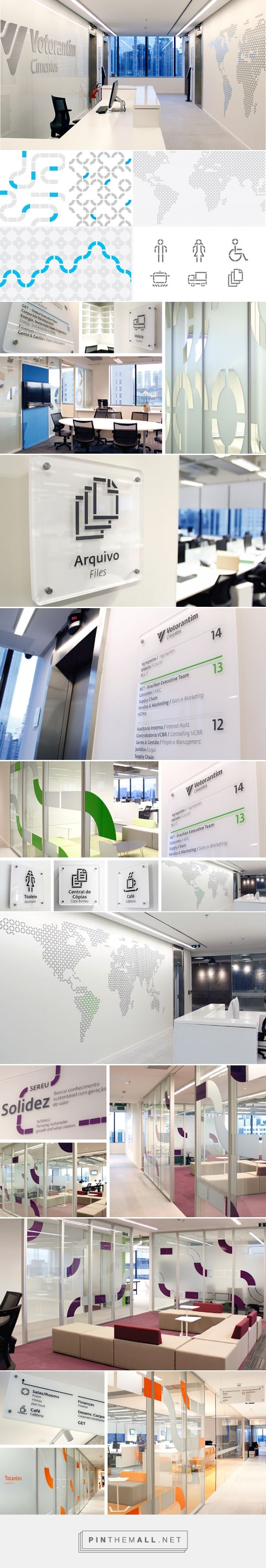 Votorantim Cimentos HQ on Behance... - a grouped images picture - Pin Them All