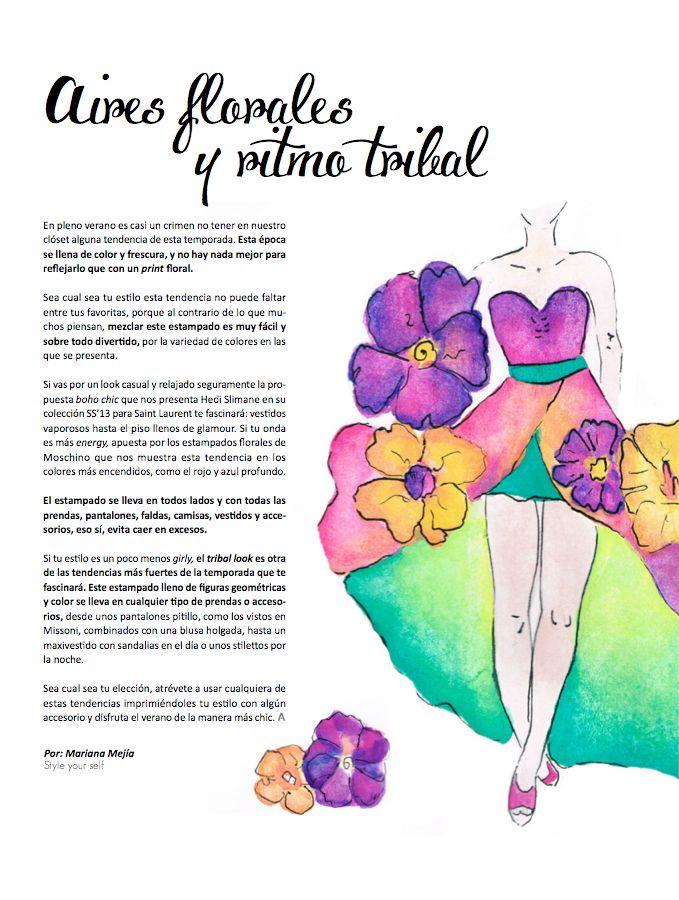 Aires florales y ritmo tribal