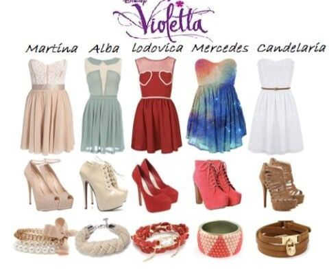 26 Best Images About Violetta Outfits On Pinterest