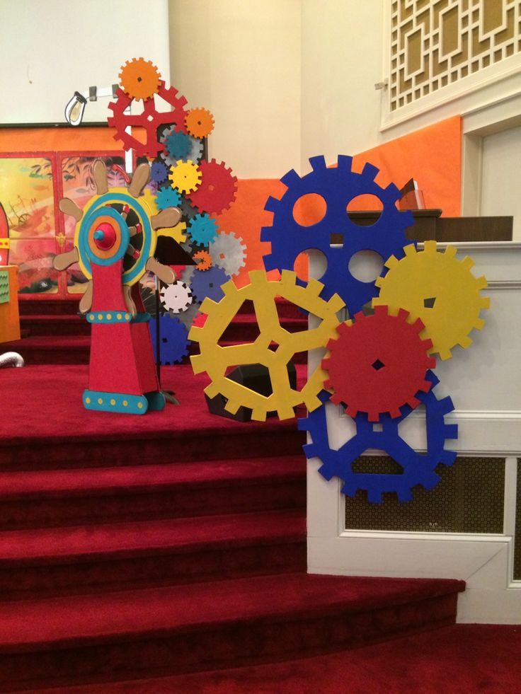 Vbs Craft Ideas For Kids Part - 31: Gears VBS Submerged