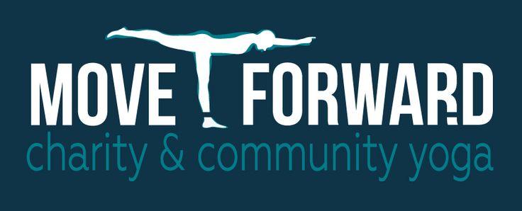 Move Forward, Charity and Community Yoga - Branding.  Copyright 2018 Mark Davies.