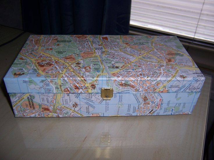 Reuse your old stuff . Free tutorial with pictures on how to make a decoupage box in under 120 minutes by decorating and woodworking with scissors, glue, and wooden box. Inspired by maple story. How To posted by Days. Difficulty: Easy. Cost: No cost. Steps: 4