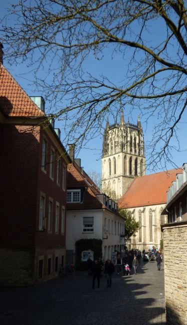 Altstadt und Überwasserkirche, Münster - Foto: S. Hopp