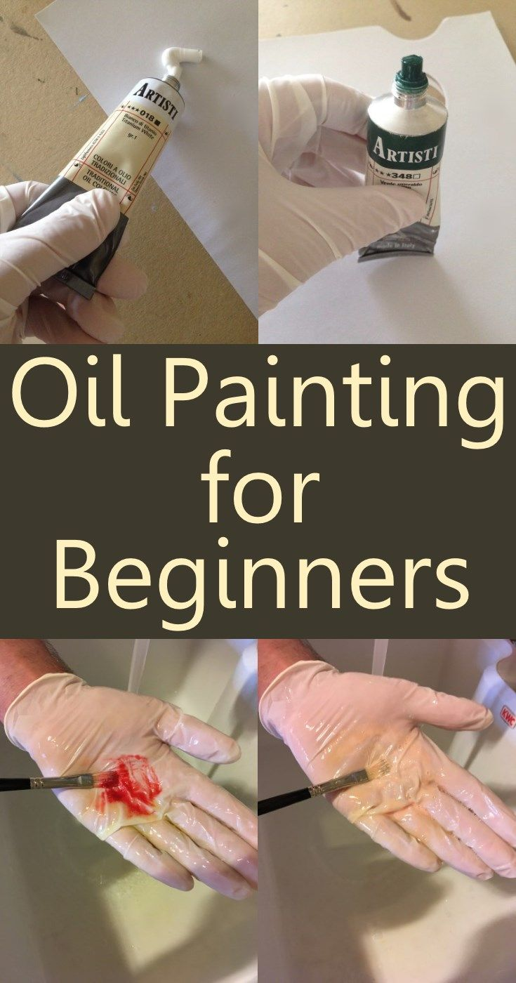 Oil Painting Supplies, equipment and tips for Beginners. Beginner guide to oil painting including How to wash brushes, s…