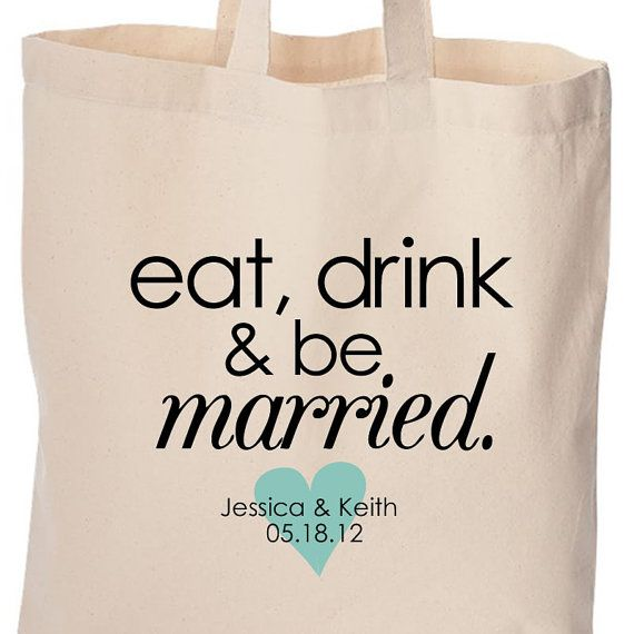 wedding party gifts or gift bags for wedding by youreworthit, $14.00
