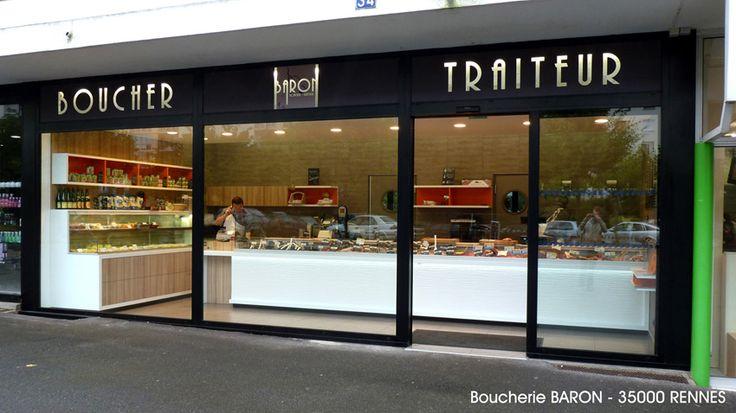 Agencement Boucherie Traiteur Charcuterie Boucher Charcutier Rennes Nantes Angers Le Mans Houal Creation