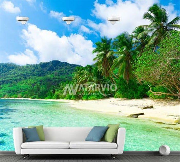 Terpopuler 30 Lukisan Pemandangan Pantai 3d Jual Wallpaper Custom Murah Wallpaper Dinding Custom Printing Pantai 3d Pantai 3 Jaka Pemandangan Pantai Lukisan