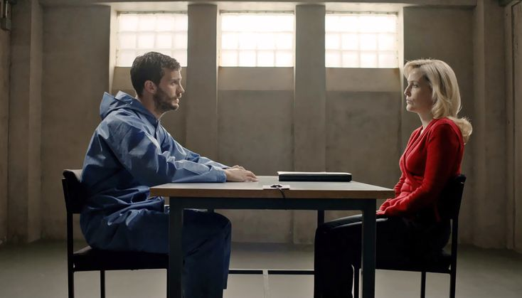 When writer/producer/director Allan Cubitt sat down to write the second season of The Fall, the hit BBC show that has made its way to American audiences via Netflix, he knew that everything would build toward an unforgettable confrontation between the show's two main characters. Jamie Dornan stars on the show as Paul Spector, a devoted husband and father by day and a meticulous serial killer by night.