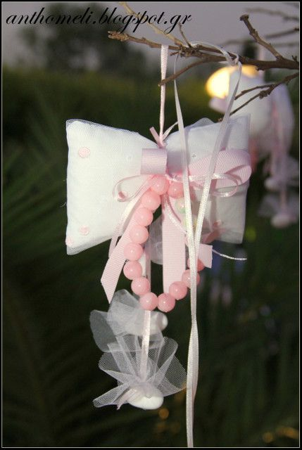 Bow Themed Baptism