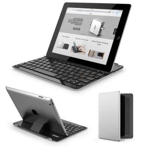 Anker® Bluetooth Ultra-Slim Keyboard Cover for iPad 4 / 3 / 2 with 6-Month Battery Life Between Charges and Comfortable Low-Profile Keys TC940 Anker http://www.amazon.com/dp/B00HAZOSWY/ref=cm_sw_r_pi_dp_kZDsub0TH8Q9T