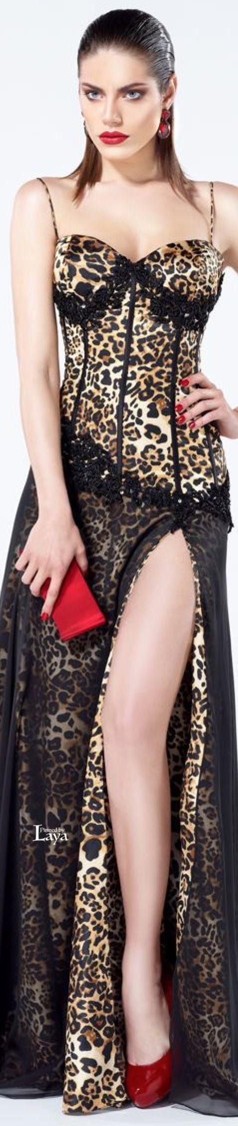 It looks like lingerie but I guarantee you Id wear it with the slit closed up.★ Tarik Ediz ★