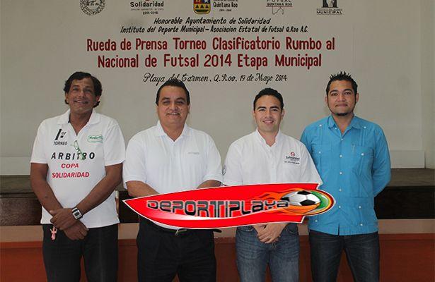 Playa del Carmen, sede del nacional de futbol de salon  del 31 de julio al 04 de agosto