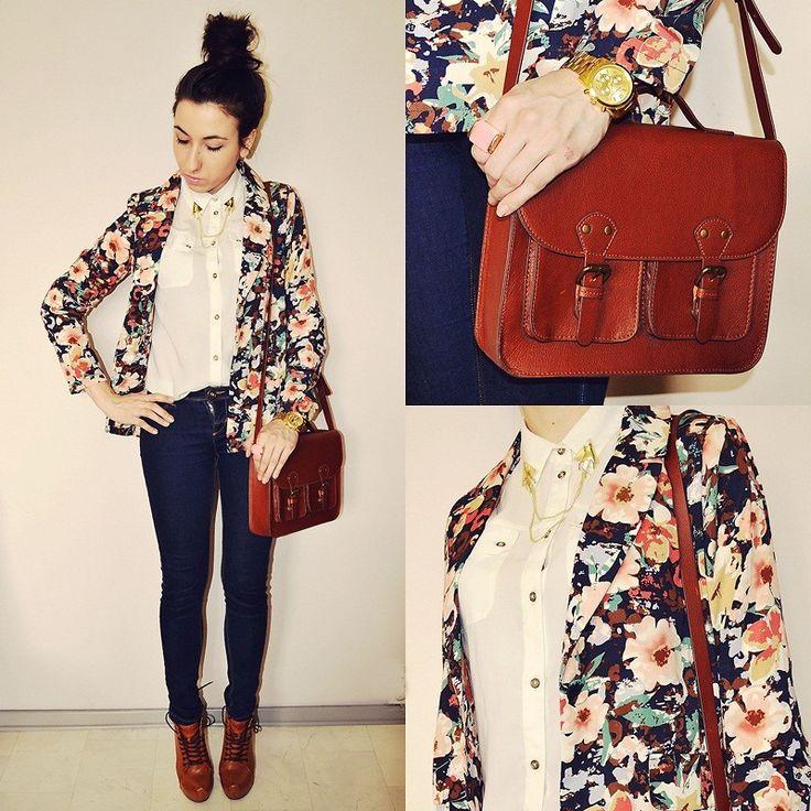 Best 25  Printed blazer ideas on Pinterest | Floral blazer outfit ...