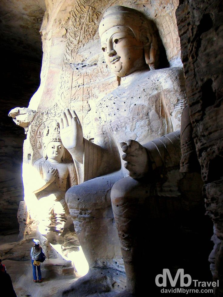 Yungang Grottoes (Caves), Datong, China | dMb Travel - Travel with davidMbyrne.com