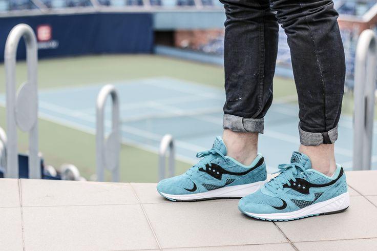 Everyone can pull off these shoes.  Saucony Grid 8000 Aqua: http://www.footshop.eu/en/mens-shoes/7419-saucony-grid-8000-aqua-.html  #saucony #grid #footshop