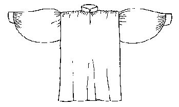 """This is the shirt of Shakespearian plays, swashbuckling pirates, the Three Musketeers, colonial militiamen, Scrooge's nighttime wanderings, and debonair Victorian suitors. The feminine version (chemise) makes a fine blouse or nightgown right up to modern days. In fact, ladies can wear either version, the """"chemise"""" variant is what you want for the off-the-shoulder """"wench"""" look."""