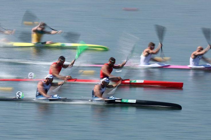 Kayak sprint, Rio 2016