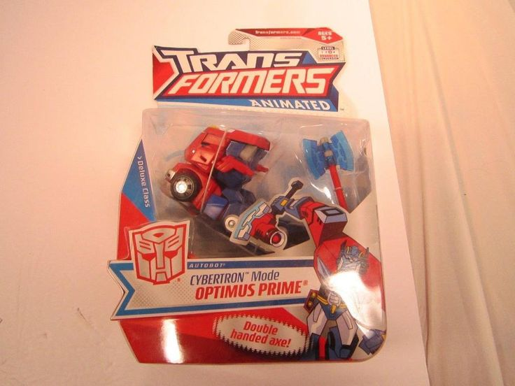Transformers Animated Cybertron Mode Optimus Prime Figure New In Package Toys #Hasbro #transformers #cybertron