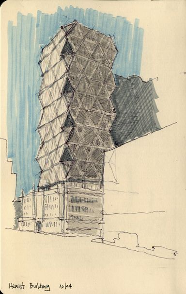 great Architecture Sketches