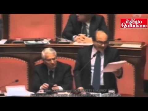 Il senatore Domenico Scilipoti cita in Senato la Bibbia contro l'omosessualità |-------> Questa è una parte del discorso che il senatore Domenico Scilipoti ha fatto al Senato sulle unioni civili...
