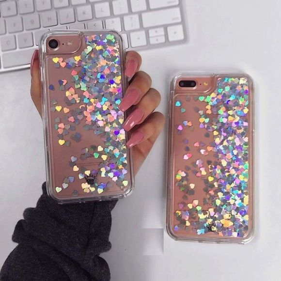 Shop Women's Silver size Various Phone Cases at a discounted price at Poshmark. Description: Waterfall liquid glitter case with moving hearts! Available: For iPhone 5 5s SE IPhone 6 6s IPhone 6 Plus 6s PLUS IPhone 7 IPhone 7 Plus. Sold by kwaccessories. Fast delivery, full service customer support.