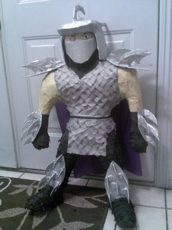 Shredder pinata  Etsy listing at https://www.etsy.com/listing/129760376/shredder-pinata-teenage-mutant-ninja