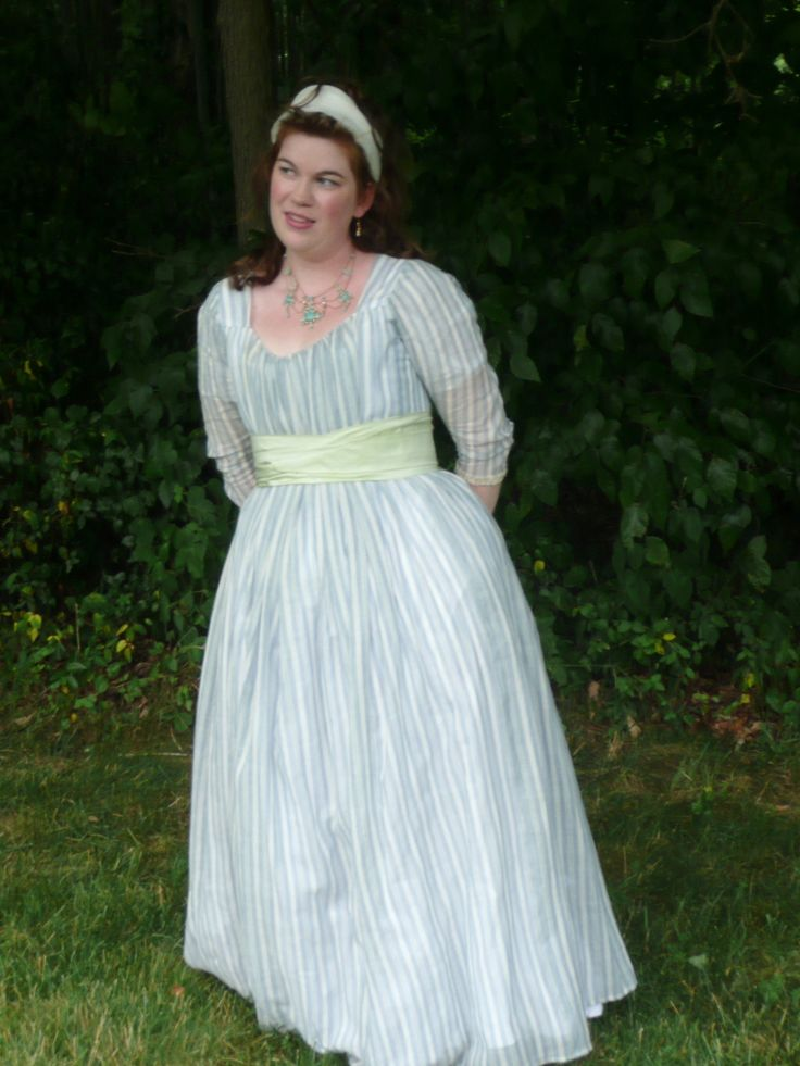 jennylafleur | diary | a chemise dress of the late 1780s