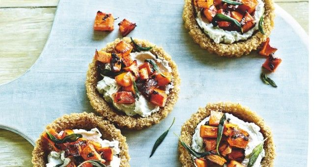 I Quit Sugar: Quinoa Cheese Tartlets by Chrissy Freer