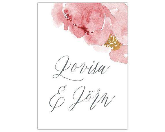 Wedding Invitation Wedding Card Hochzeitspapeterie Set Save The Date