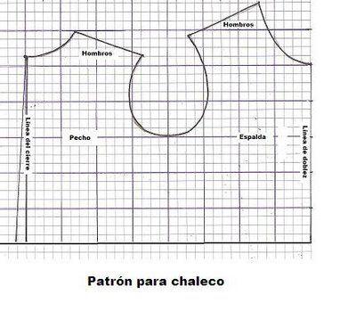 DESEO HACER UN CHALECO | Aprender manualidades es facilisimo.com