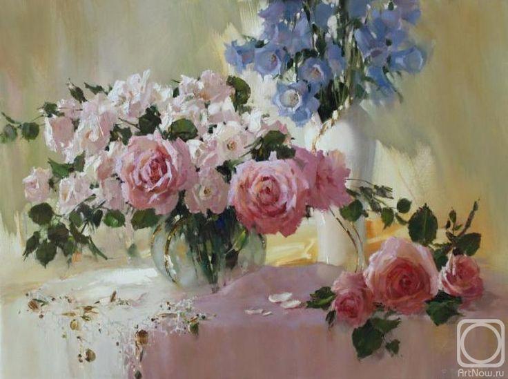 Кукуева Светлана. Натюрморт розовый