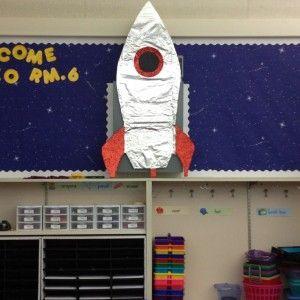 Rocket bulletin board 1