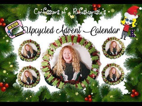 Upcycled DIY Toilet Roll Advent Calendar Wreath Tutorial - Sheri Pavlovic