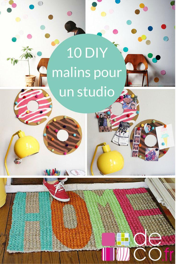10 DIY malins pour un studio d'étudiant // http://www.deco.fr/loisirs-creatifs/photos-82134/