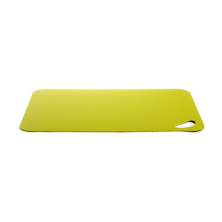 Schneidebrett+Flexi+Kunstst.+ca.+L:38+cm,+grün    <p>Material:+Kunststoff</p>  <p>Farbe:+grün</p>  <p>Maße:+ca.+L:38+cm</p>  <p></p>  <p>Ein+funktionaler+Helfer+in+der+Küche+ist+dieses+Schneidebrett+aus+flexiblem,+hygienischem+Kunststoff.+Hierauf+schneiden+Sie+alle+Zutaten+für+ein+leckeres+Gericht+ohne+Schwierigkeiten+schnell+und+sicher+klein.</p>    3,99€