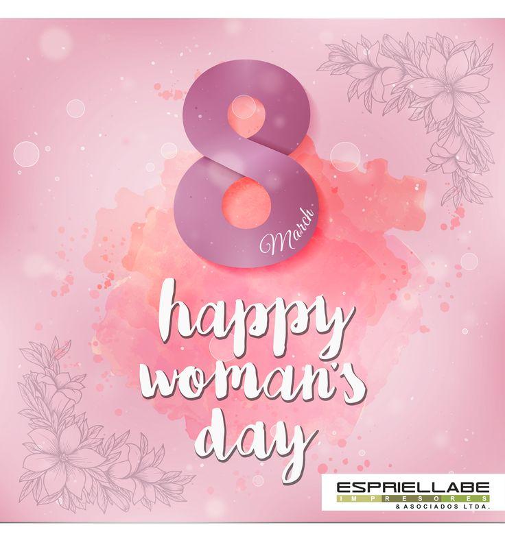 Día Internacional de la Mujer: Se celebra cada 8 de marzo como homenaje a las víctimas de la lucha por la igualdad de derechos para las mujeres. Es la celebración de una tradición relativamente larga, ya que se estableció en 1910, por lo que hace más de 100 años. Feliz día.