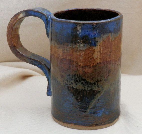 Stoneware  ExtraLarge Coffee MUG Extra Large by LisaMelitaArt, $22.50January 2012, Extra Large, Stoneware Extralarg, Extralarg Coffee, 2012 Work, Coffee Mugs