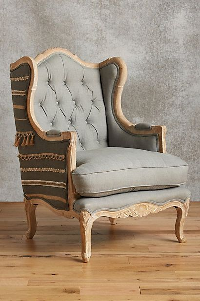 Andorry Wingback Chair #anthropologie $1298.00
