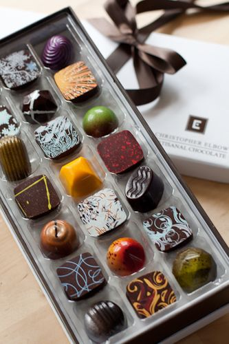 Christopher Elbow Artisanal Chocolates...basically heaven in a box.