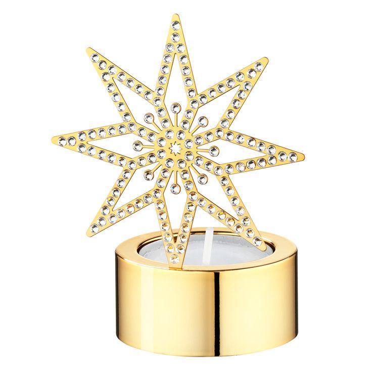 Swarovski Christmas tea light golden Star - CHF 69.00