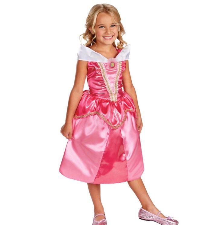 Kinder kostuum prinses Aurora