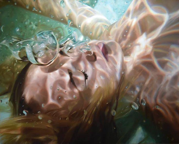 Underwater Paintings by Reisha Perlmutter