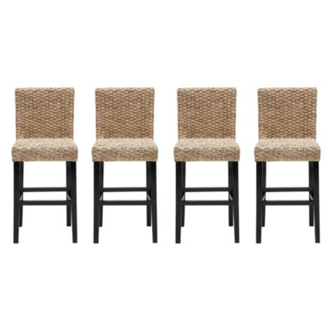 Chic Combo - 4 Hyacinth Counter Stools from Z Gallerie            $336.60 w/discount for combo