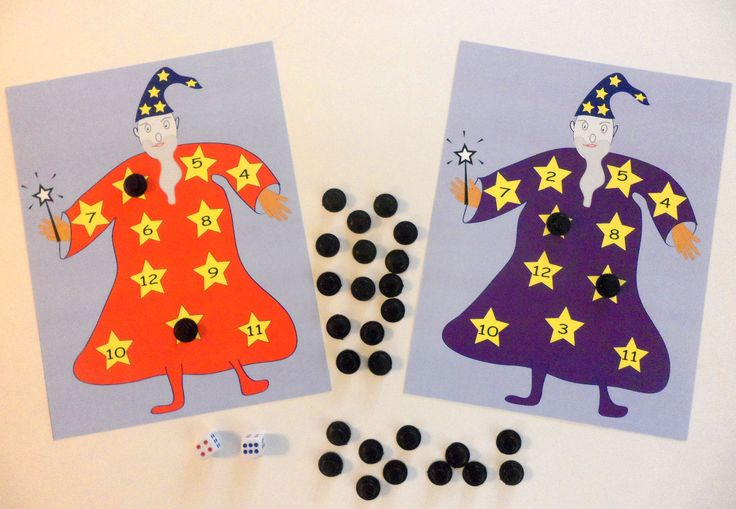 Wizard Math - a fun adding game inspired by the story The Magic Hat