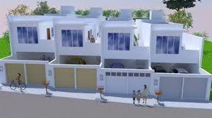 casas geminadas 2 andares planta - Pesquisa Google